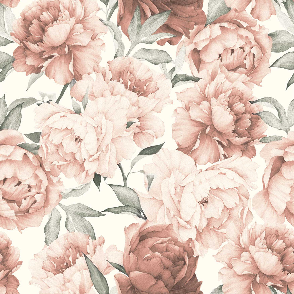 Peonies Garden wallpaper