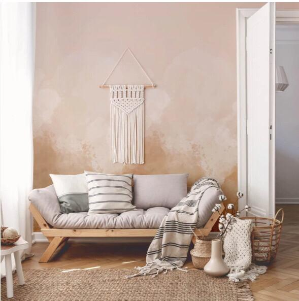 Watercolour Pastel Ombre Wallpaper