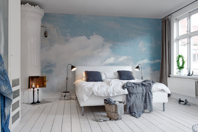 Clouds Above Wallpaper