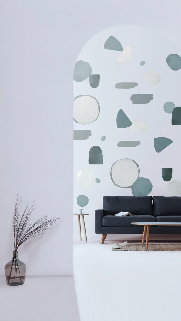 Glacier Colours Wall Decals