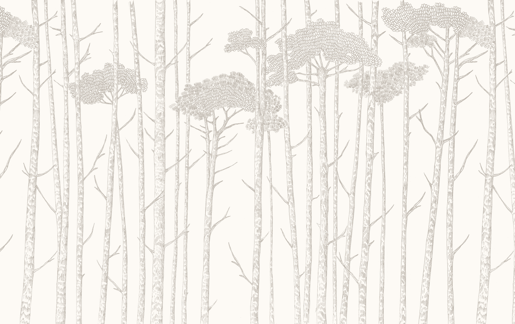 Grey Ara's Trees Wallpaper