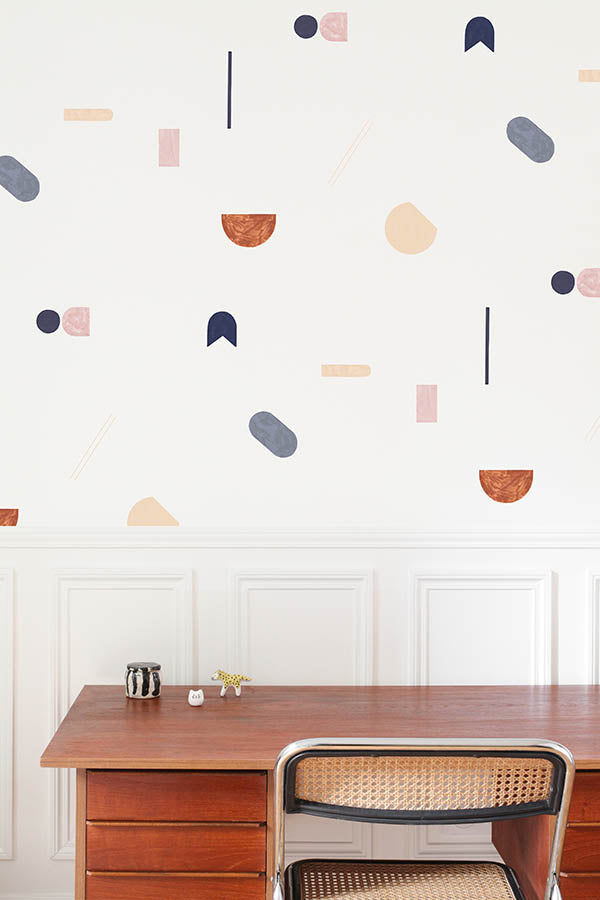 Geometric Canele Wallpaper