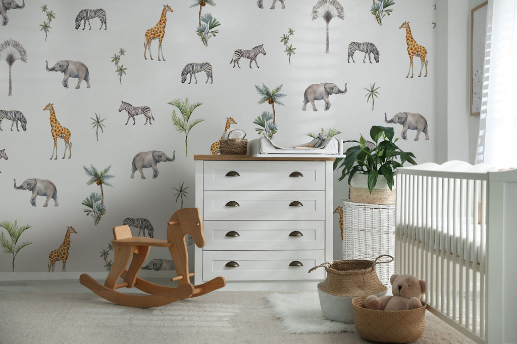 Woodland Animals Wallpaper
