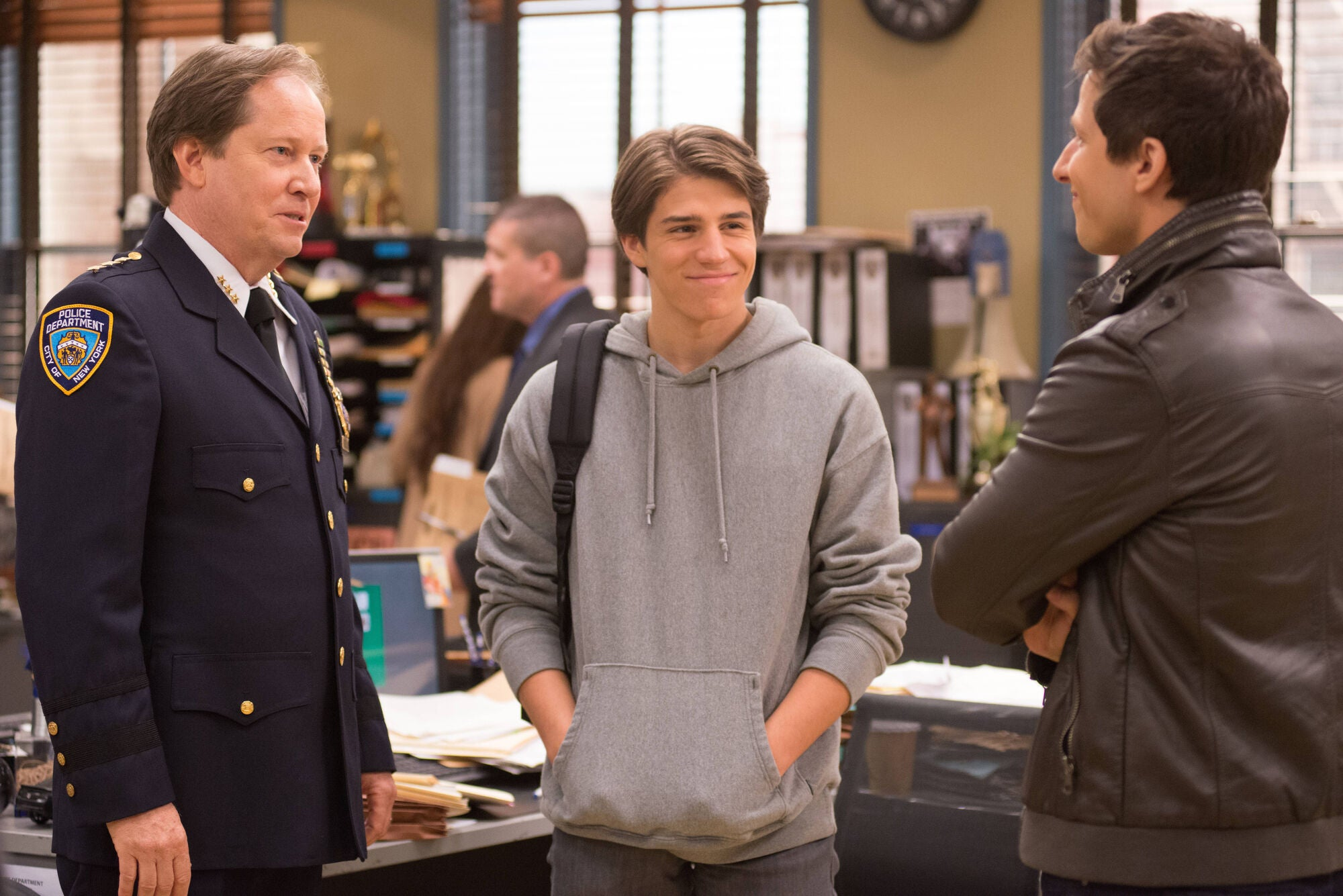 Image result for brooklyn 99 The Tagger (S01E02)