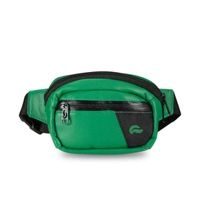 Skunk Mini Hipster - Green Leather