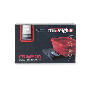 TruWeigh - CRIMSON 1000g x 0.1g