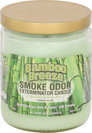 Smoke Odor Candle 13oz Jar - Bamboo Breeze