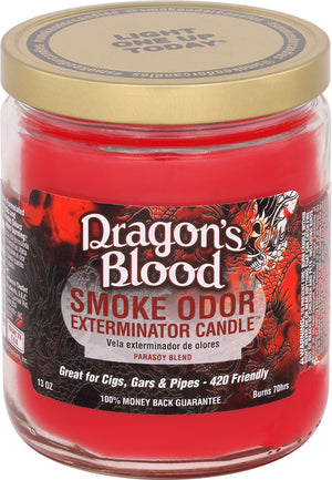 Smoke Odor Candle 13oz Jar - Dragon's Blood