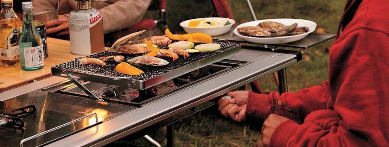 Iron Grill Table