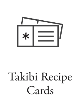 Takibi Recipe Cards