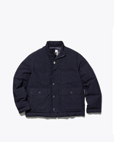 Indigo C/N Down Jacket - Snow Peak
