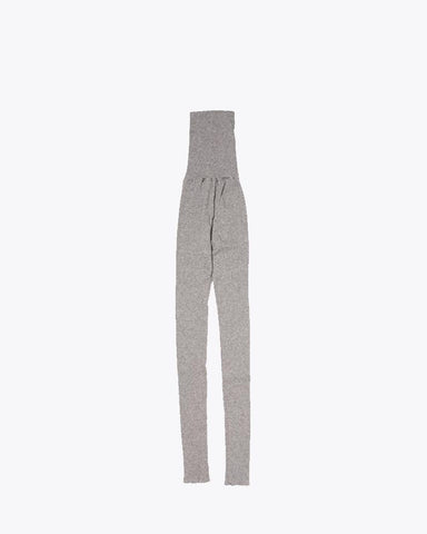W's Yak/Cotton Rib Leggings - Snow Peak