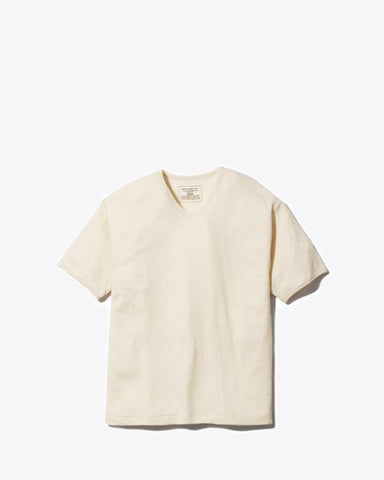 Ultimate Pima Double Knit Tee - Snow Peak