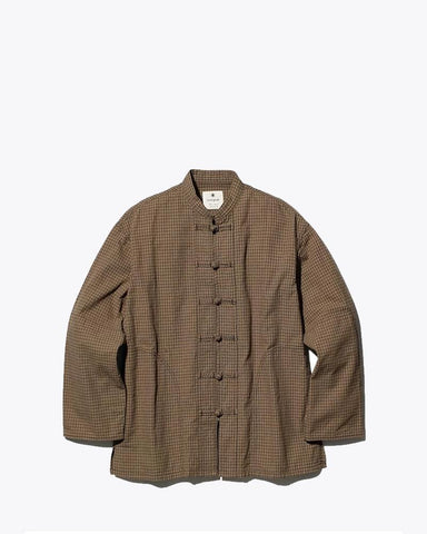 Pankou Button Gingham Jacket - Snow Peak