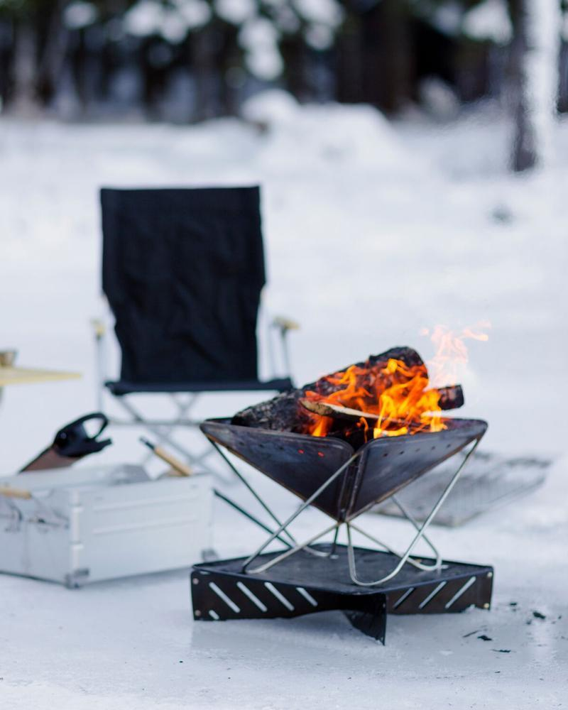 Pack & Carry (L) Fireplace - Snow Peak