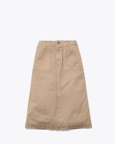 Ultimate Pima Drill Skirt - Snow Peak