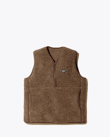 Wool Fleece Vest - Snow Peak