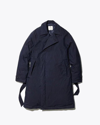 Indigo C/N Down Coat - Snow Peak