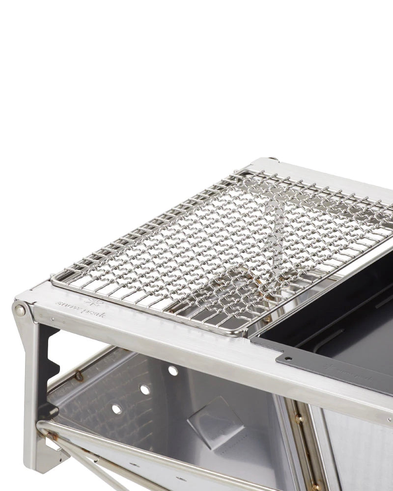 Stainless Half Grill Pro