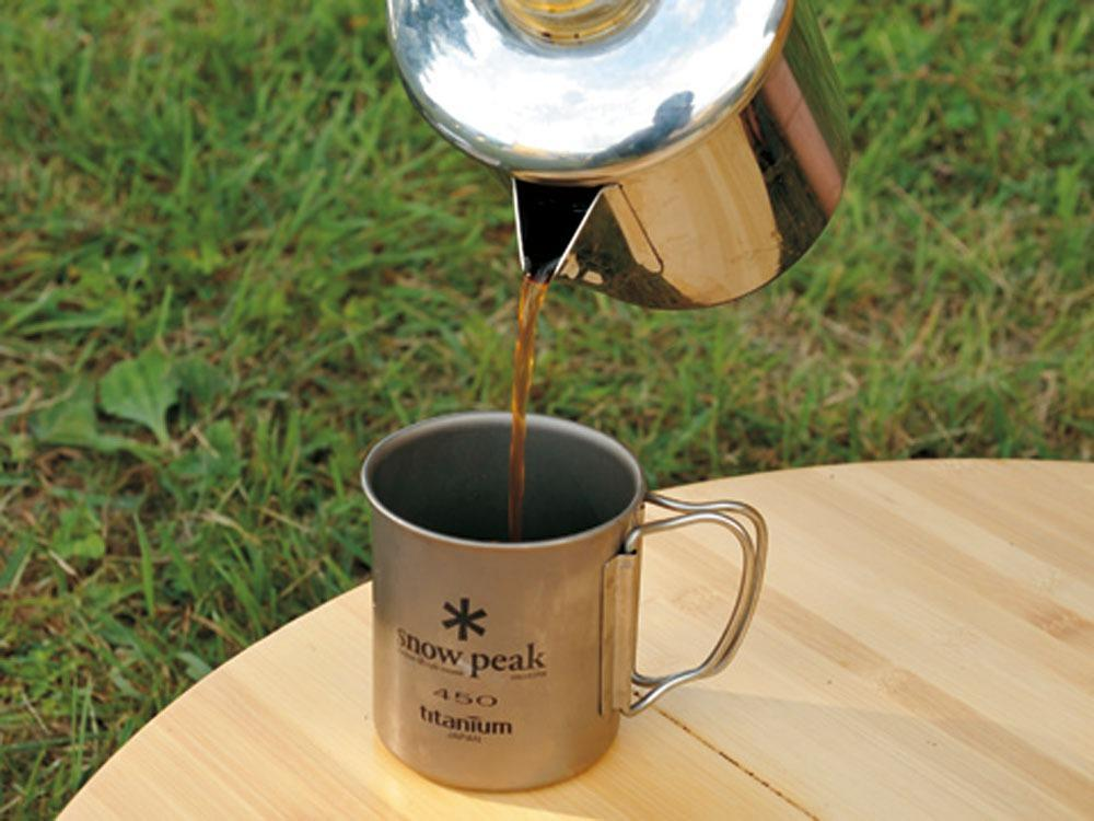 Stainless Coffee Percolator - Snow Peak