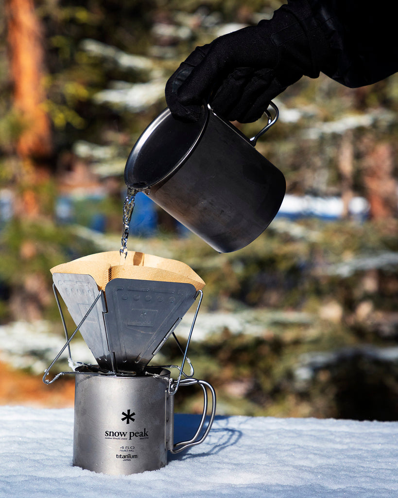 Backpacking Coffee Set