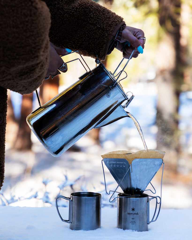 Car Camping Coffee Set