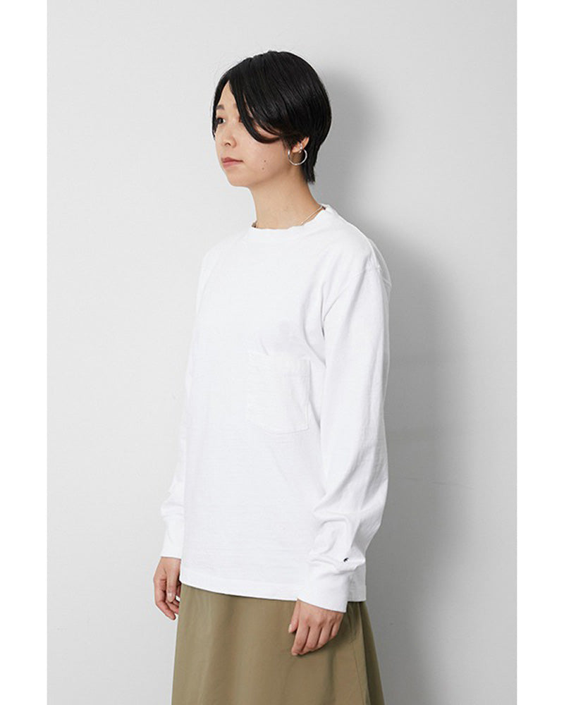 Heavy Cotton Garment Dyed L/S Crewneck