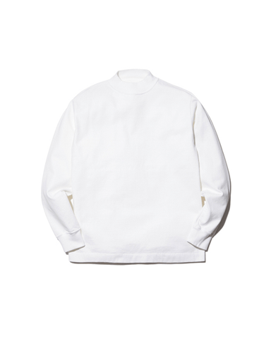 Heavy Cotton Garment Dyed L/S Mockneck