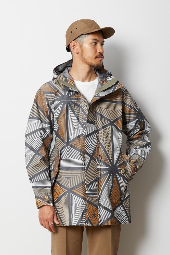 Printed eVent C/N Rain Jacket - Snow Peak