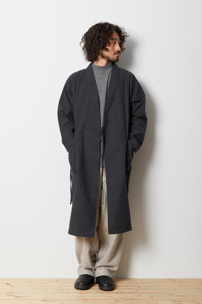 NORAGI Long Coat - Snow Peak