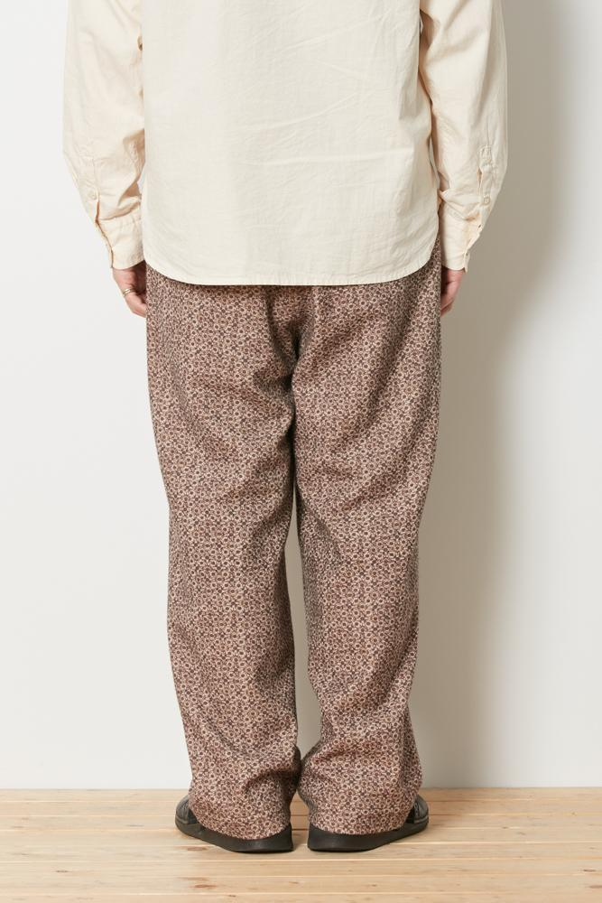 Printed Wo/Ny Pants - Snow Peak