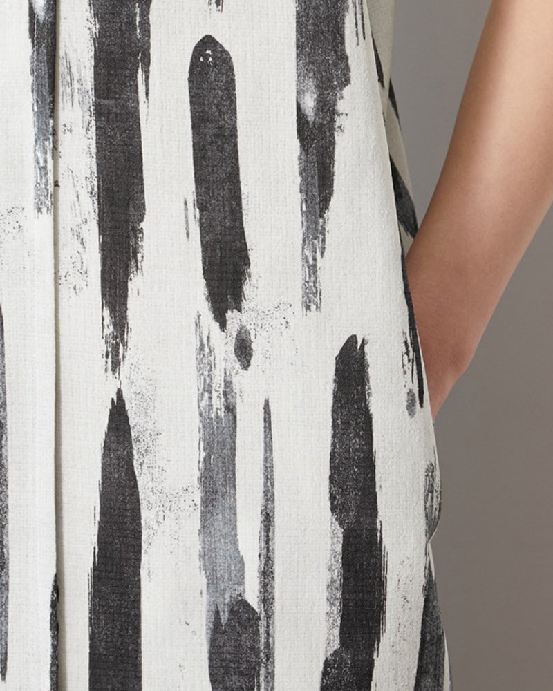 Printed Breathable Soft Dress