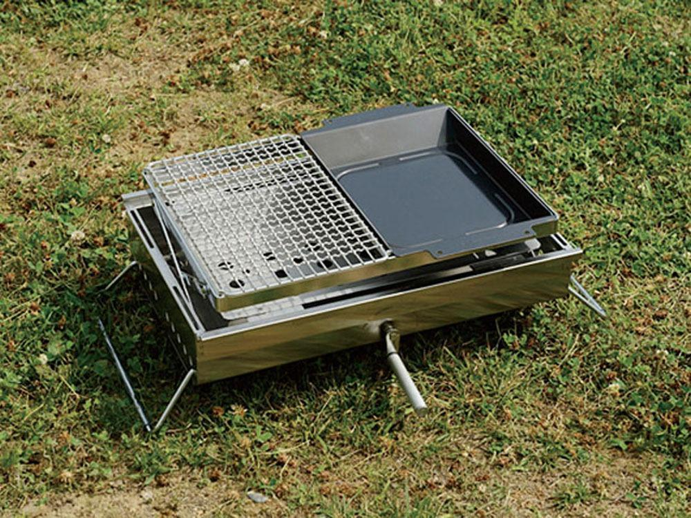 Grill Stainless Half Pro - Snow Peak