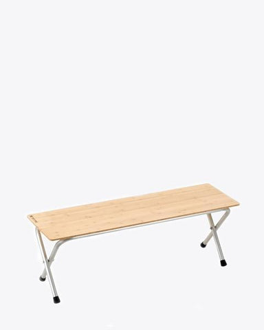 Long Folding Shelf Bamboo - Snow Peak