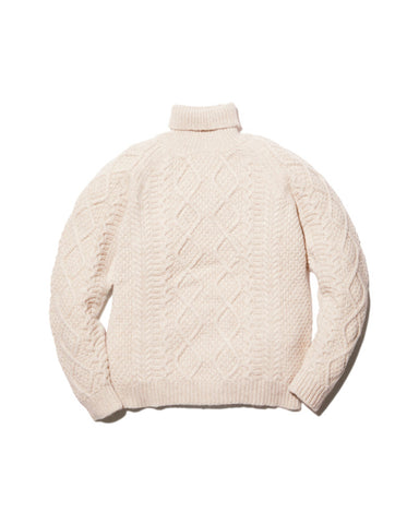 Alpaca Knit Turtleneck