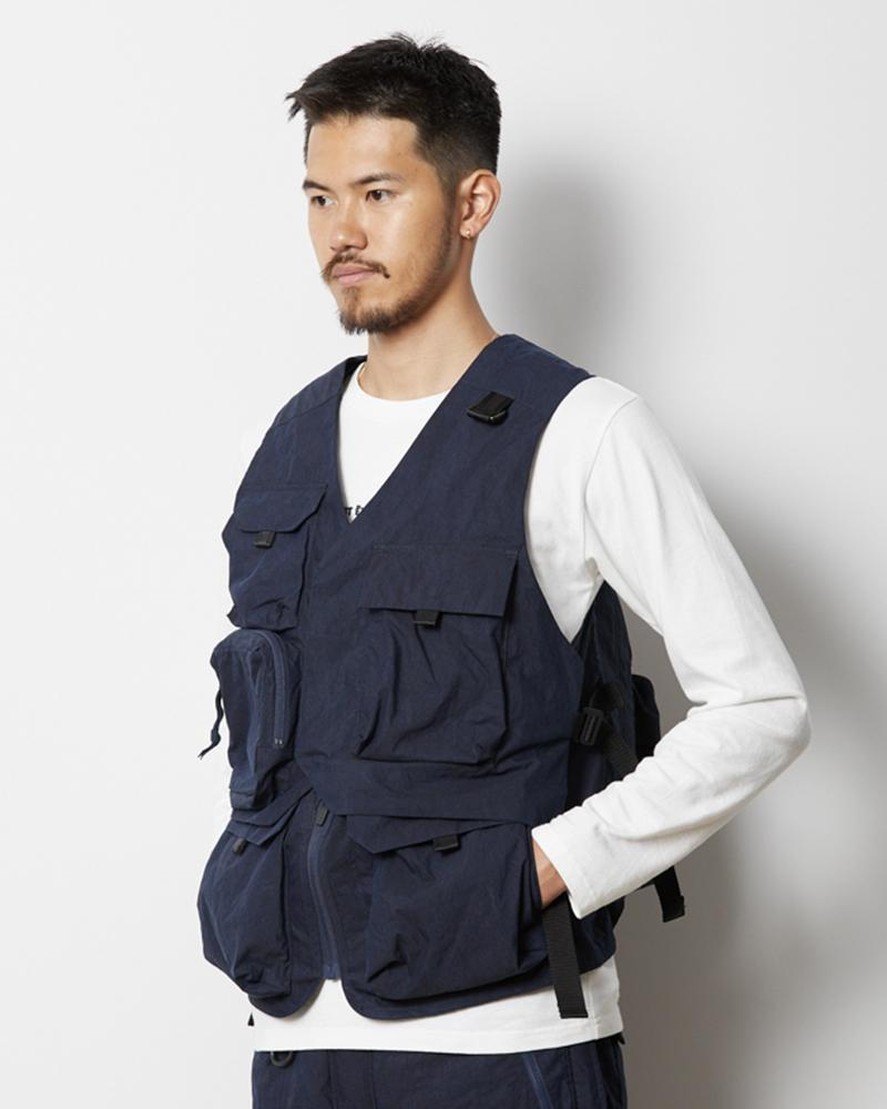 Tokyo Design Studio Transform Vest Bag - Snow Peak