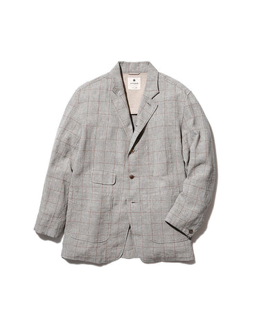 Cotton Linen Tweed Jacket