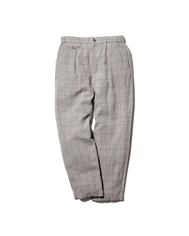 Cotton Linen Tweed Pants