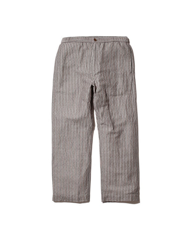 Cotton Linen Dobby Stripe Pants