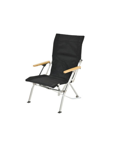 2020 Festival: Low Beach Chair in Black