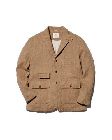 Wo/Li Herringbone Tweed Jacket