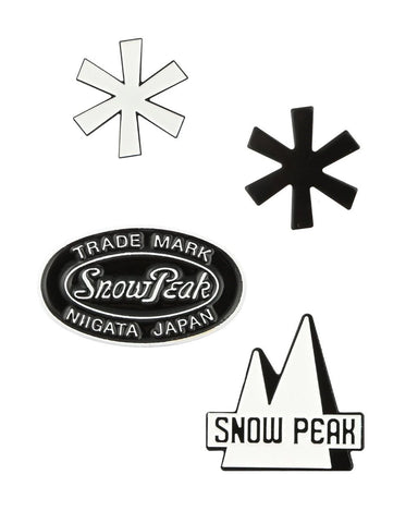 Enamel Pin: Logo Series - Snow Peak