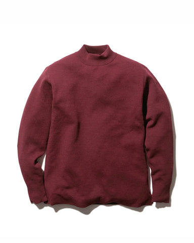 Li/W/Pe Mockneck Long Sleeve Shirt