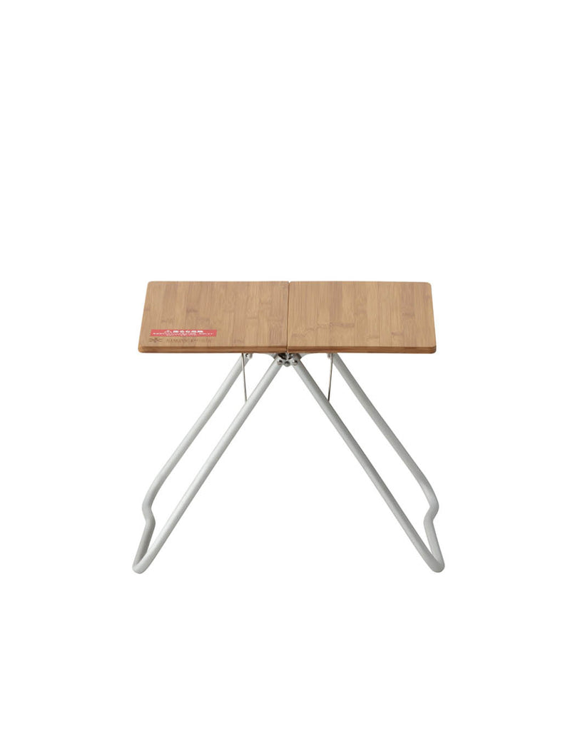 Lifetime Product Guarantee Designed in Japan Snow Peak Bamboo My Table for Indoor Outdoor Use LV-034TR