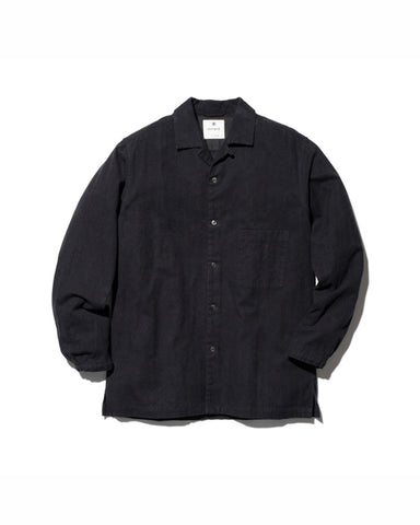 Organic Cotton Suede Shirt
