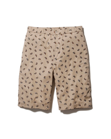 Organic Cotton Poplin Shorts