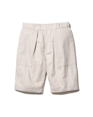 Cotton Linen Easy Shorts