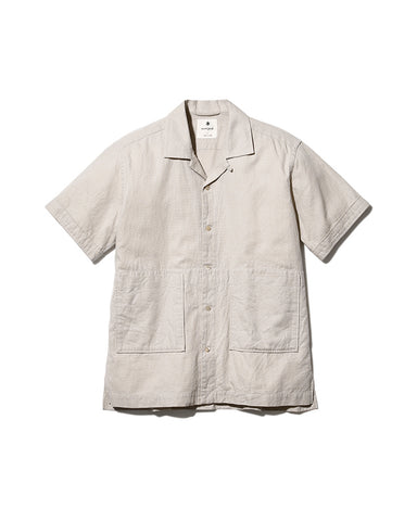 Cotton Linen Easy Shirt
