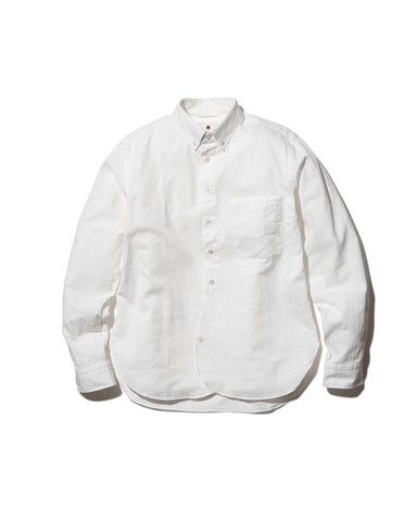 Organic Cotton Poplin Button-Down Shirt
