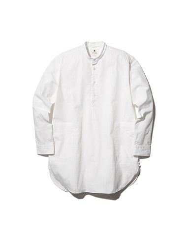 Organic Cotton Poplin Long Shirt